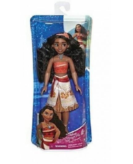Disney Princess Royal Shimmer Moana Doll, Fashion Doll with Skirt, Accessories