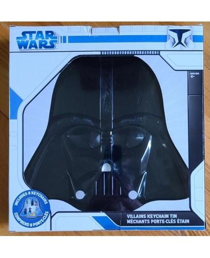 Star Wars Villains Keychain Tin