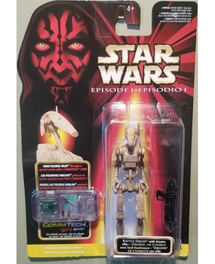 Star Wars Episode 1 - Battle Droid & Commtech Chip
