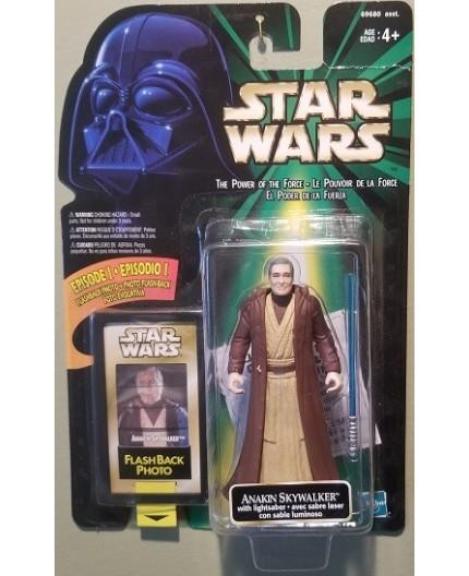 Star Wars POTF Anakin Skywalker and FlashBack Photo
