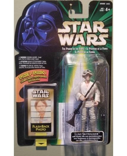 Star Wars POTF Luke Skywalker with Blaster Rifle and Electrobinoculars