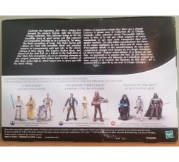 Star Wars Trilogy Set -Darth Vader, Emperor Palpatine & Stormtrooper