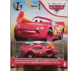 Cars 3 Character Cars 2021 : Lightning McQueen with Cone