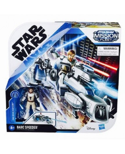 Star Wars MISSION FLEET OBI-WAN KENOBI BARC SPEEDER