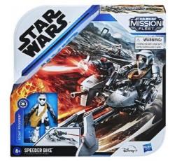 Star Wars MISSION FLEET SCOUT TROOPER SPEEDER BIKE