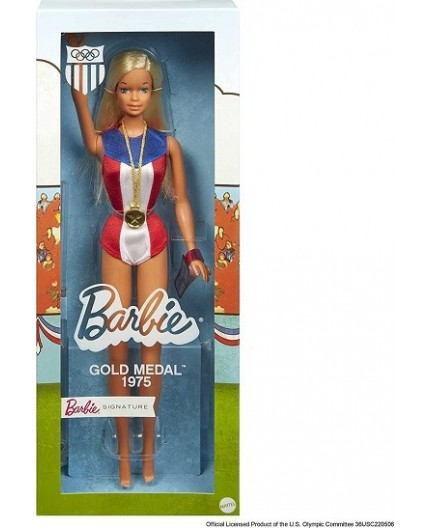 Barbie 1975 Gold Medal Reproduction Doll