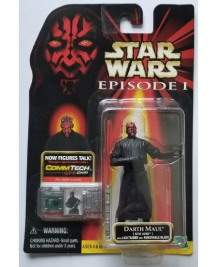 Star Wars Episode 1 - Darth Maul Sith Lord & Commtech Chip