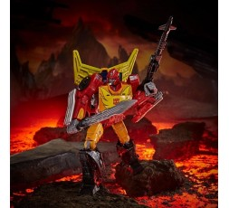 Transformers War for Cybertron Kingdom Commander Class Rodimus Prime