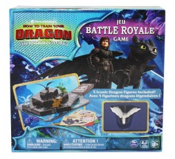 Dreamworks How to Train Your Dragon The Hidden World Battle Royale Board Game